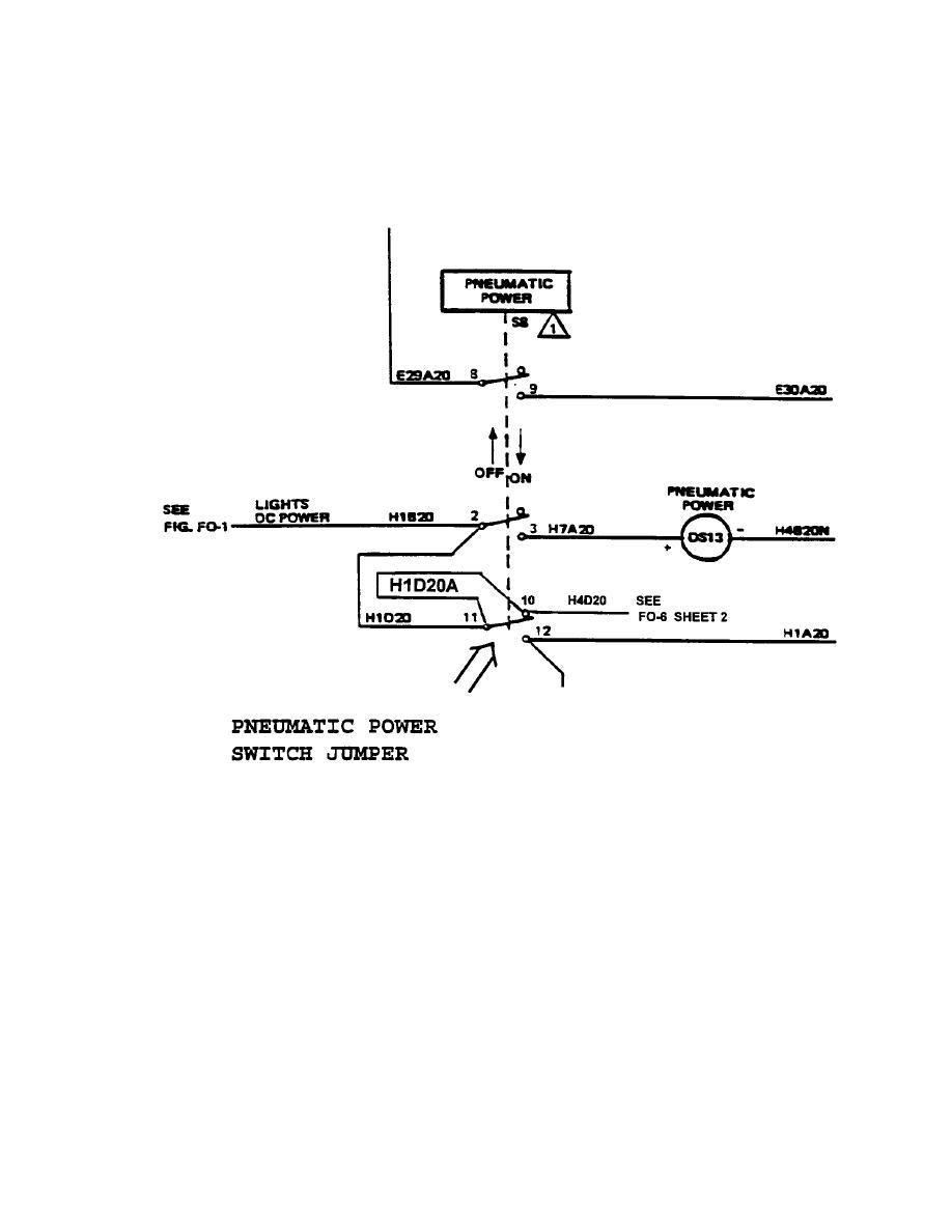 figure j fo 7d dc pneumatic control system schematic wiring diagram