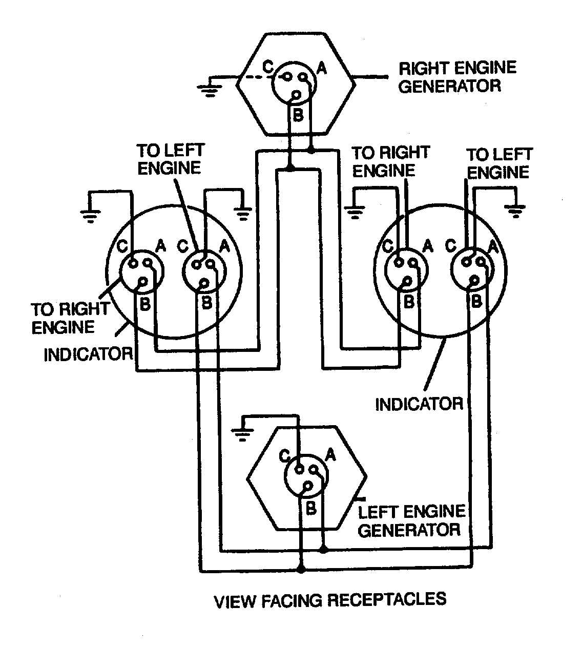TM 1 1500 204 23 4_66_0 figure 4 17 dual synchronous rotor tachometer wiring diagram rpm gauge wiring diagram at edmiracle.co