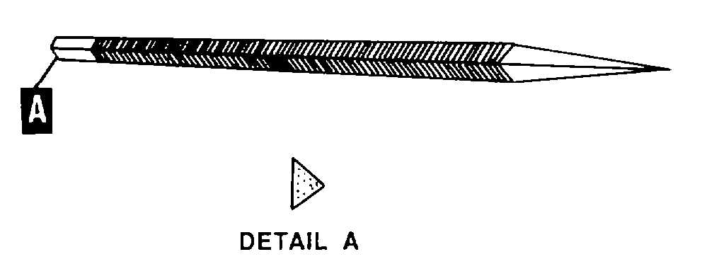 file tool drawing. they are used to file acute internal angles, and clear out square corners. certain triangular files saw teeth. figure 4-68. tool drawing