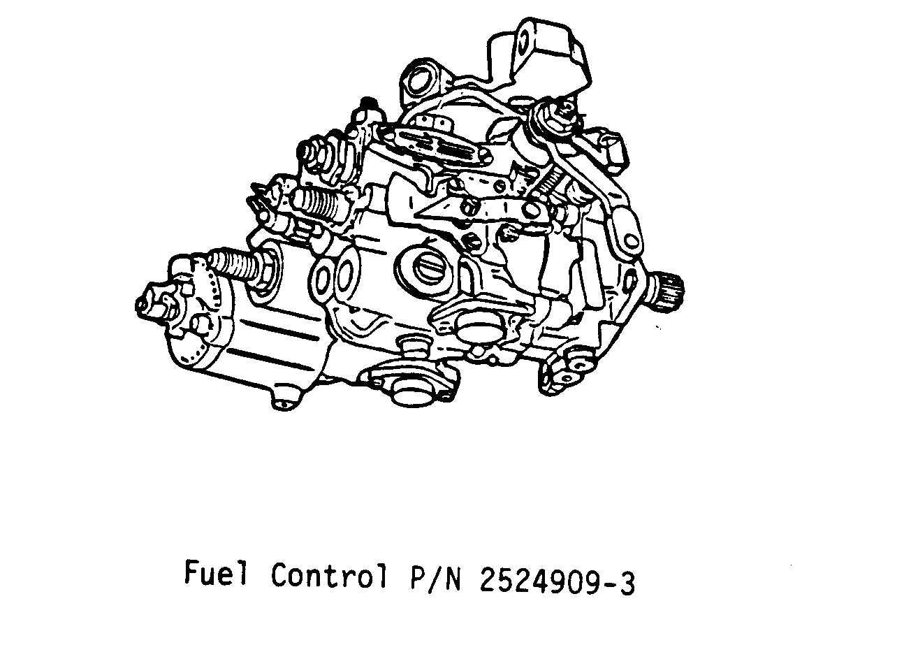 fuel control max speed stop