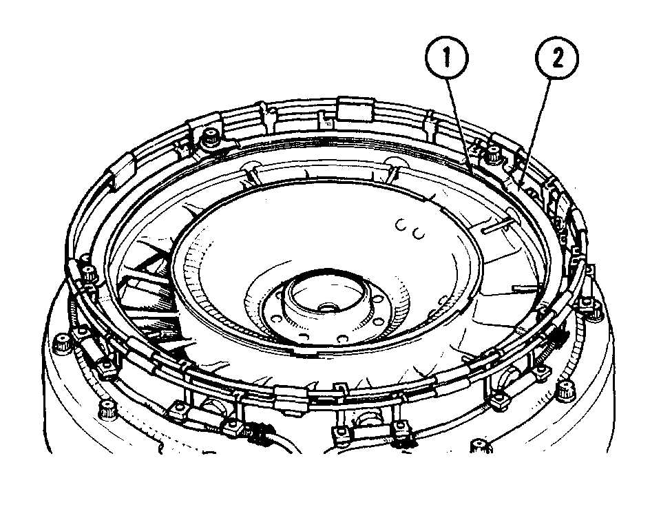 section viii power turbine case sealing ring s